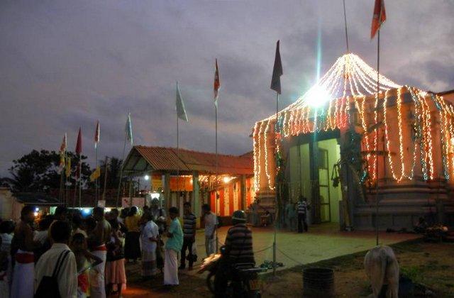 मुन्निश्वरम शिव मंदिर - श्री लंका