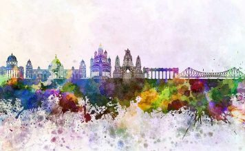 Calcutta in watercolors
