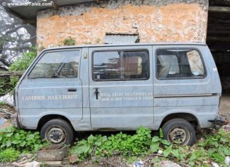 Delivery Van at Landour Bakehouse