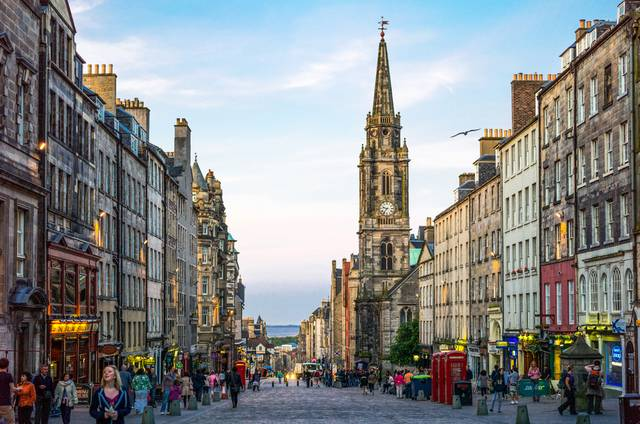Royal Mile - Edinburgh