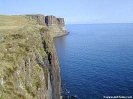 Cliffs at Isle of Skye