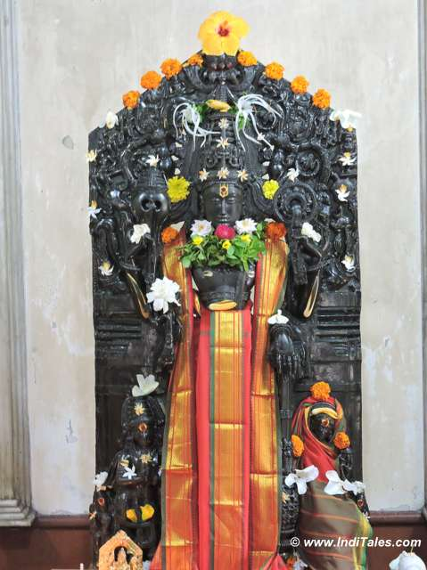 Ancient idol of Lakshmi Keshav