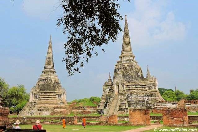 Wat Phra Si Sanphet or Royal Monastery