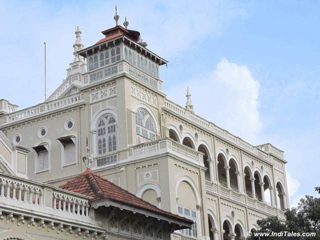 Backside of Aga Khan Palace