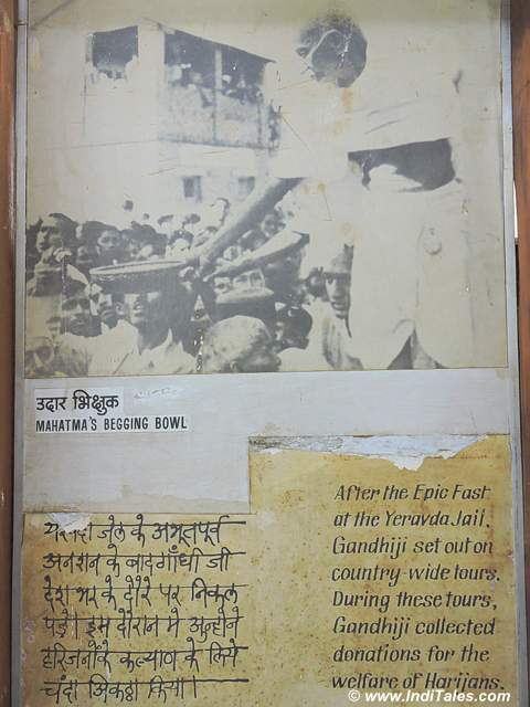 Images and letters of Mahatma Gandhi