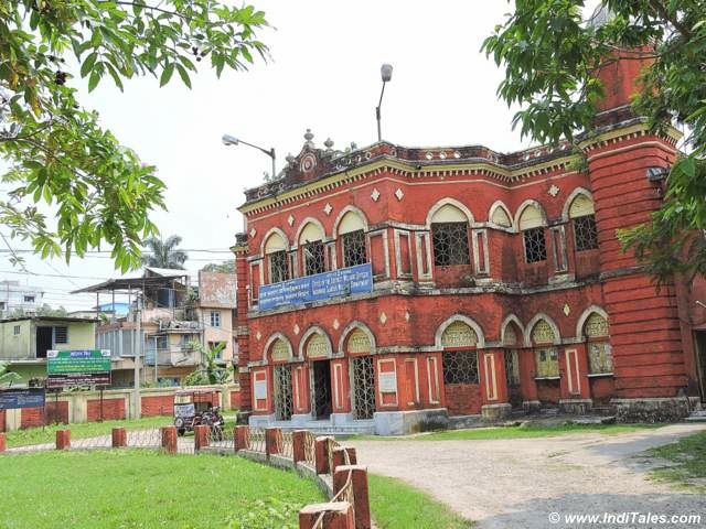 Buildings around Sagar Dighi at Cooch Behar