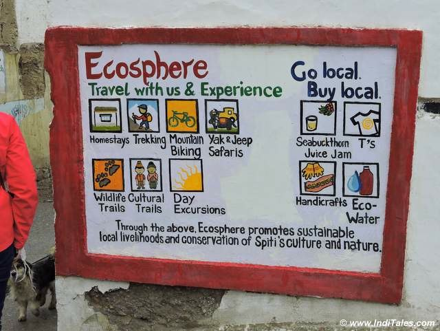 Spiti Ecosphere at Kaza