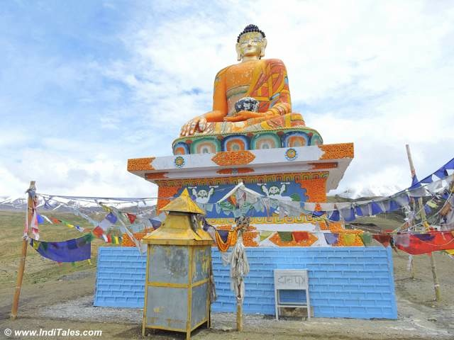 Buddha Statue at Langza in Spiti Valley