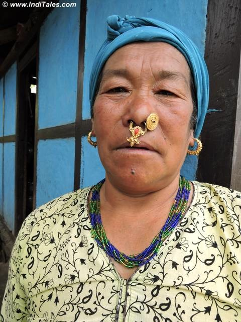 Traditional Sikkimese Lady