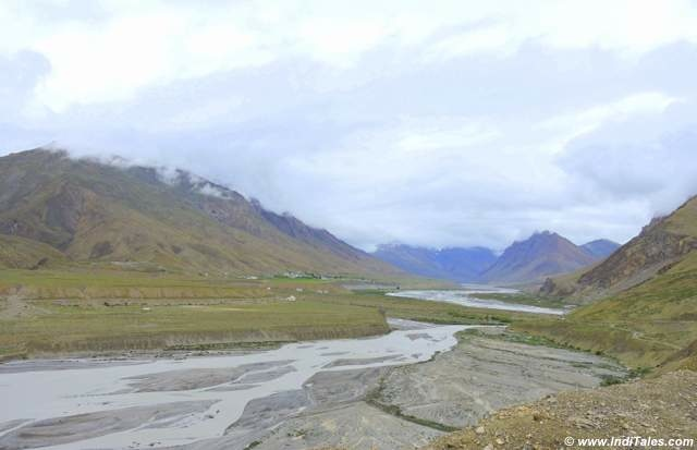 Spiti River around Kaza