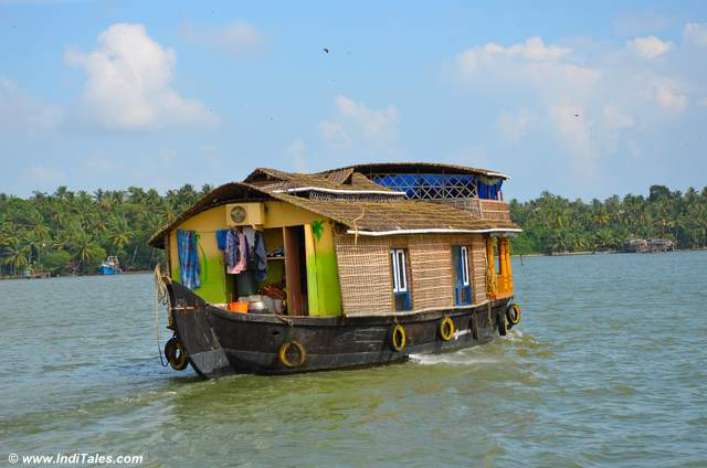 Kerala Houseboat on Ashtamudi Lake