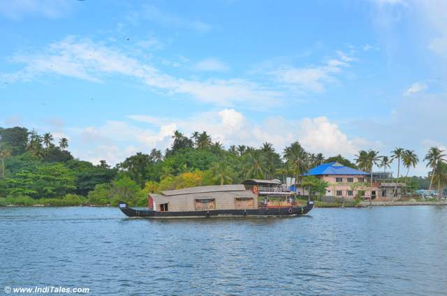 Cruise on Ashtamudi Lake