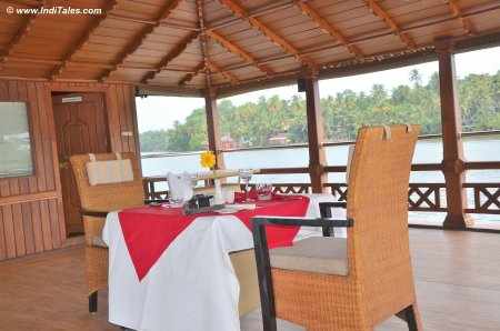 Lunch on a Luxury Boat on Ashtamudi Boat
