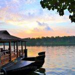 Ashtamudi lake from our Hotel
