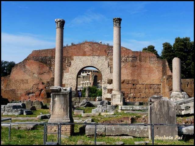 Forum Romanum Basilica of Aemilia