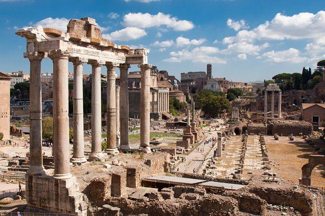 Ruins of Forum Romanum