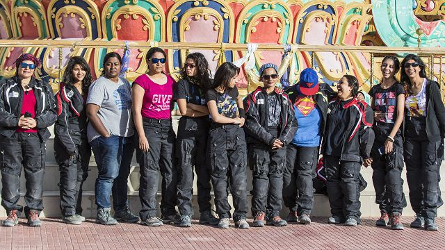 11 gutsy girls... - going for the Himalayan Highs