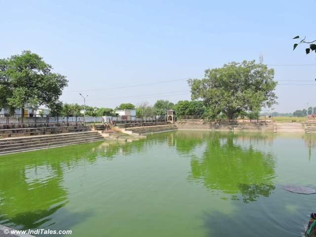 Gandharva Sagar - the tank next to Chandikeshwar temple