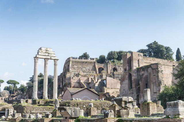 Temple of Dioscuri