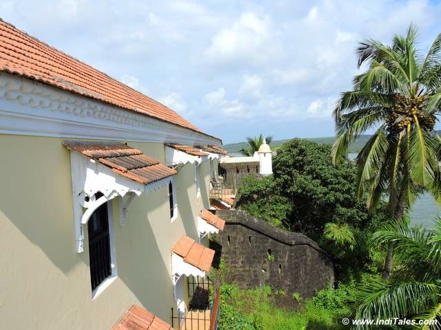 Tiracol Fort - now a luxury Fort Tiracol Heritage Hotel, Goa