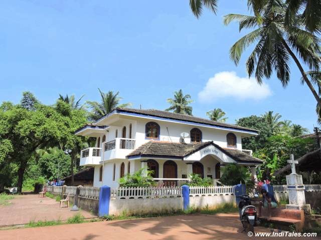 Padri House - the biggest house in the village with a lovely view of Sea