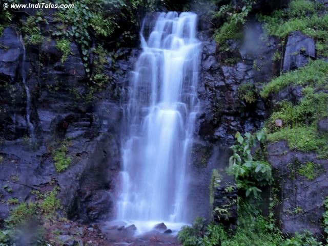 Waterfall seen from Konkan Railway