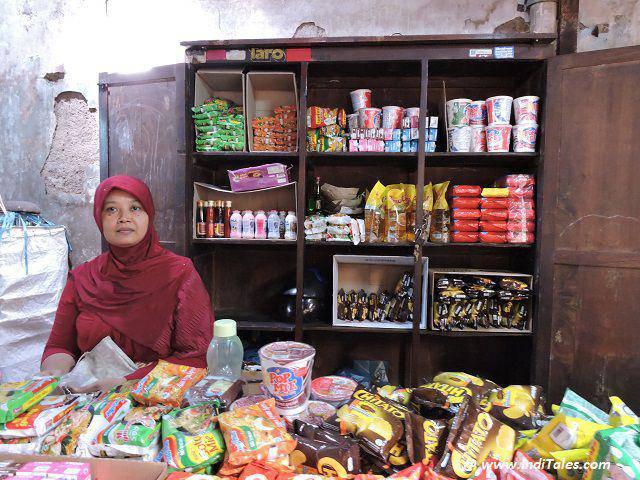 At Kotagede Market, Yogyakarta