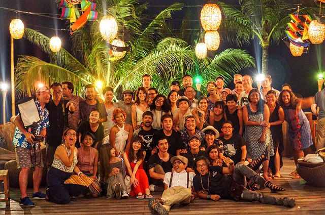 The team of 40 travelers on Trip of wonders visiting Wonderful Indonesia