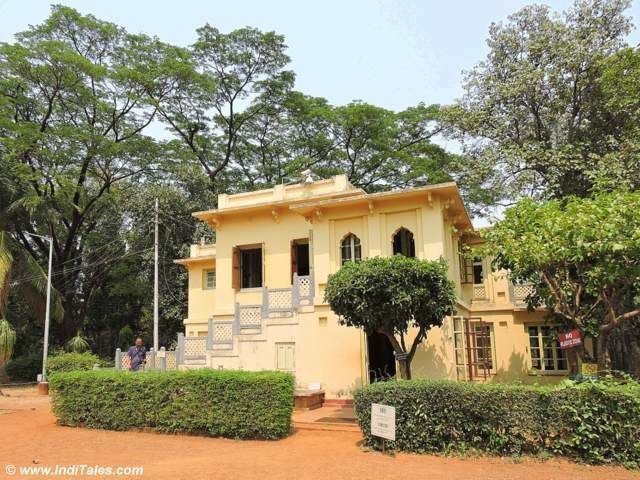 One of the houses at Uttarayan Complex - Shantiniketan