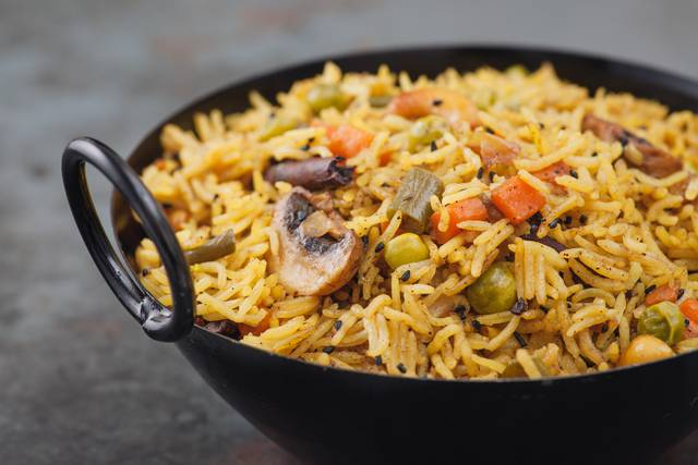 Take home the famous Hyderabadi Biryani