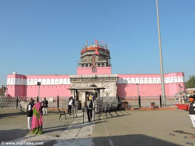 Fort like exterior of Karni Mata Temple