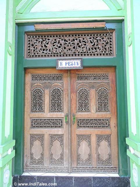 Beautifully Carved doors at KotaGede, Yogyakarta