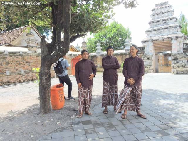 Men in traditional Dress at Local festival