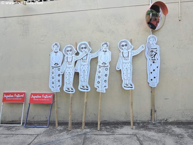 Street Signs at Kota Gede