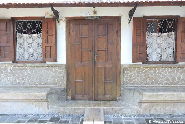 Charming wooden doors - Kotagede