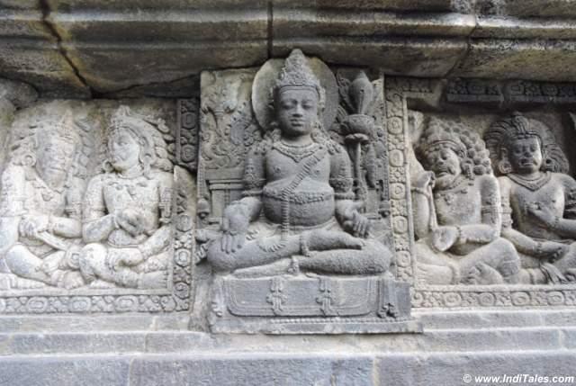 Kuber bas relief at Prambanan Temple, Yogyakarta