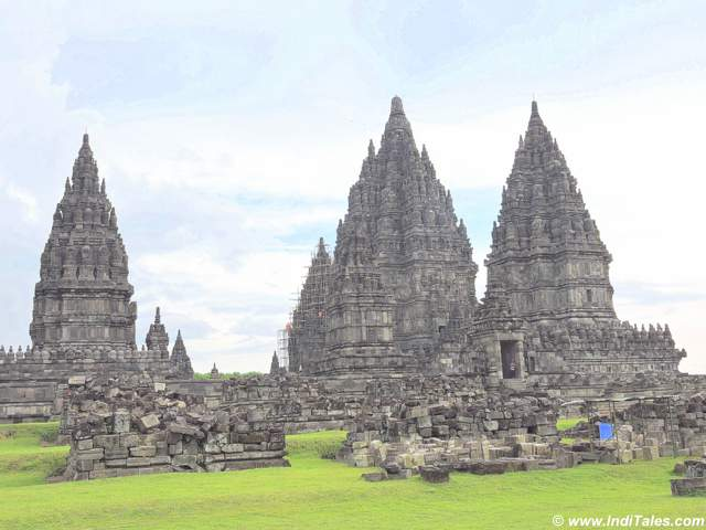 The temples at Prambanan