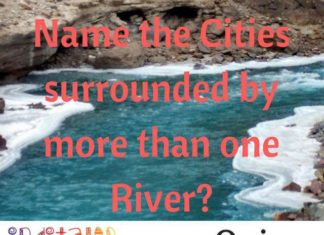 IndiTales Travel Quiz - Rivers & Cities