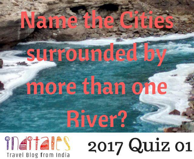 IndiTales Travel Quiz - Rivers & Cities