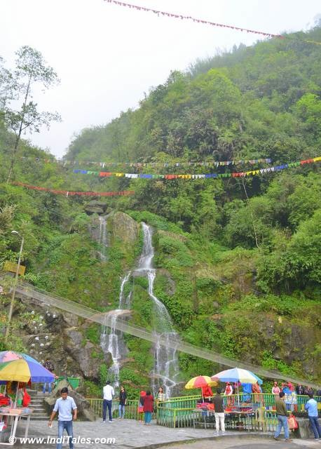 Bakthang Waterfalls near Gangtok