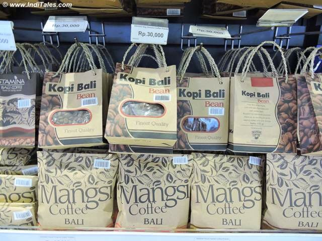 Coffee beans from Bali