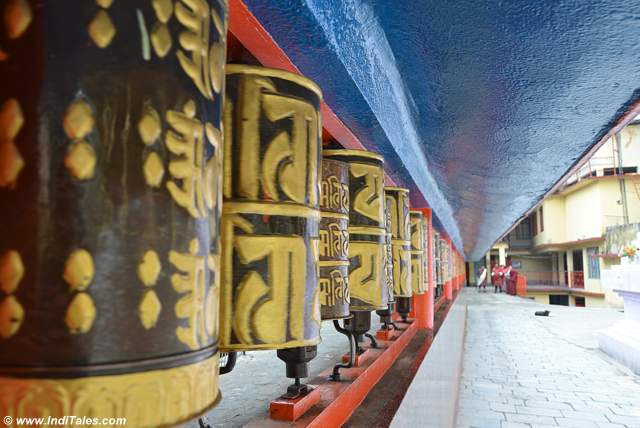 Prayer Wheels at Do Drul Chorten at Gangtok