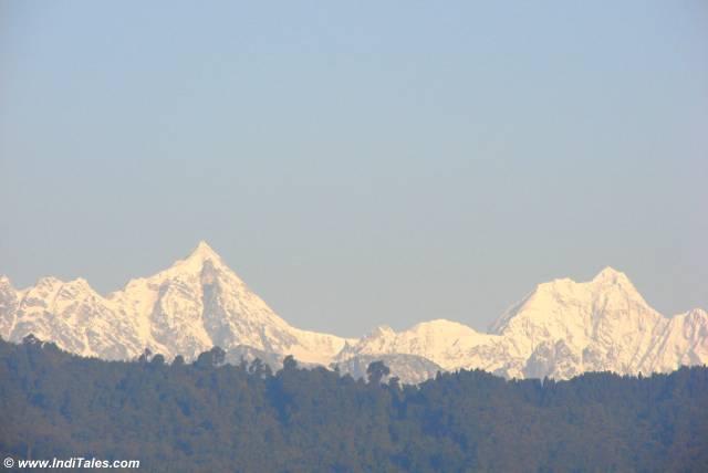 Kanchenjunga Peaks of Himalayas
