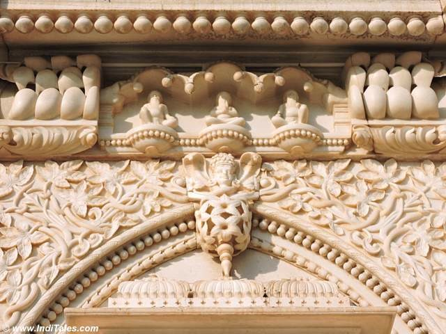 Details of marble carving