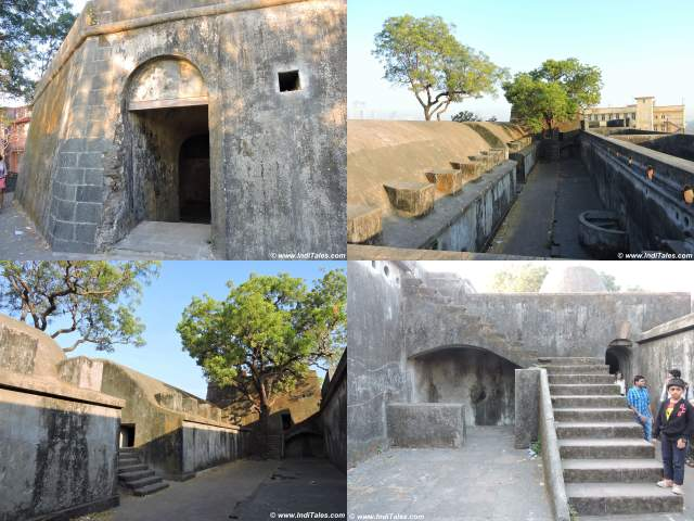 Collage of Sewri Fort images, Mumbai