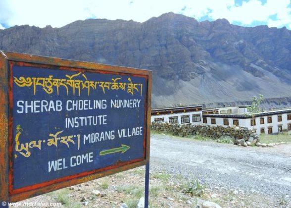 Sherab Choeling Nunnery near Kaza, Spiti Valley