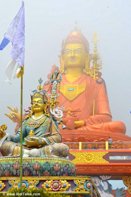 Giant statue of Padmasambhava at Samdruptse