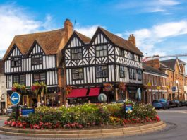 Half timber houses of Stratford upon Avon