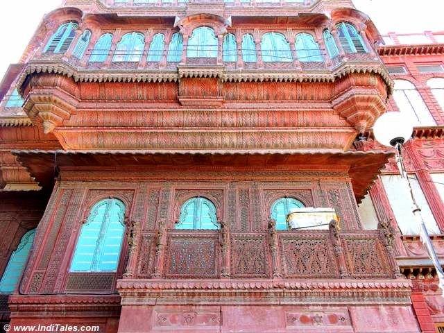 Rampuria Haveli frontal facade