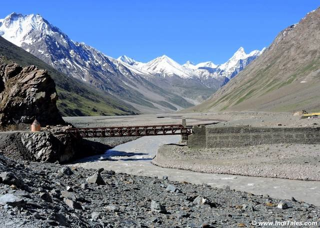bridges on Spiti River- Himachal